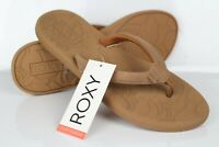 Roxy Women's Vickie Flip Flop Sport Sandals Size 9 Tan