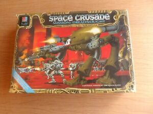 NEW / SEALED SPACE CRUSADE EXPANSION GAME – MISSION DREADNOUGHT
