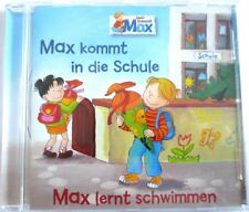 CD Hörspiel Max kommt in die Schule von 2012