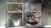 Formule un 2001 Platine Playstation 2 Pal Complet