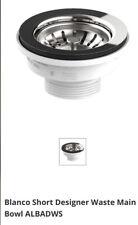 Blanco ALBADWS Sink Strainer Waste Plug Basket With Stopper