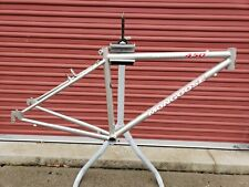 "NOS 90's Mongoose Crossway 450  Bicycle Frame...Cromoly...Hybrid ....16"" Frame"