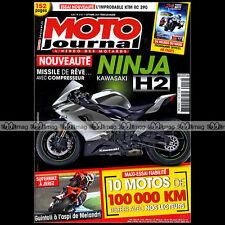 MOTO JOURNAL N°2115 KAWASAKI ER6F NINJA H2R YAMAHA XS 650 XS2 XJ6 HONDA CBR 2014
