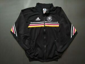 """GERMANY WORLD CUP 1998 Tracksuit Track Top Jacket Vintage Retro Adidas Shirt """"M"""""""