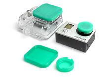 Linsen Schutz für GoPro HD HERO 3 Zubehör Lens Cap Protector Abdeckung Mint