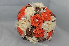 AUTUMN BRIDAL BOUQUET  FLOWER    PACKAGE ********* 22 PIECES*********