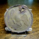 Civil War Era Recovered Damaged Eagle Breast Plate