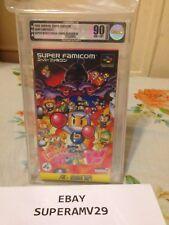 SUPER BOMBERMAN :PANIC BOMBER W SUPER FAMICOM  JAPAN VGA 90 ARCHIVAL CASE