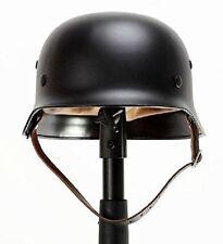 High Quality BLACK WW2 German Elite Wh Army M35 M1935 Steel Helmet Stahlhelm