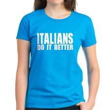 CafePress Italians Do It Better Women's Dark T Shirt Womens T-Shirt (243155545)
