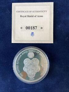 Royal Shield Of Arms Coin Collection - 20 Pence + COA 00187