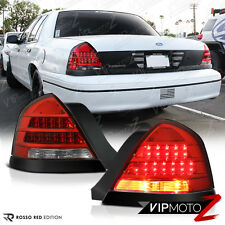 1998-2001 Ford Crown Victoria Factory Style LED Taillights Rear Brake Right Left