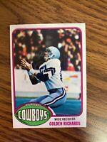 1976 Topps #73 Golden Richards  Dallas Cowboys  NrMt
