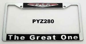 64-72 Pontiac GTO 'The Great One' 6.5L Litre License Plate Frame Bracket