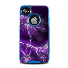 Skin for Otterbox Commuter iPhone 4 - Apocalypse Violet - Sticker Decal