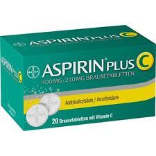 ASPIRIN Plus C Brausetabletten   20 st   PZN1894063