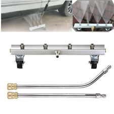 High Pressure Washer Undercarriage Chassis Cleaner Water Ground Washing Broom