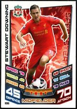 Stewart Downing #106 Topps Match Attax Football 2012-13 Trade Card (C440)