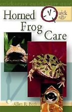 Quick & Easy Horned Frog Care by Both, Allen