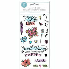 Molly & Rex Good Things Clear Stamps #804