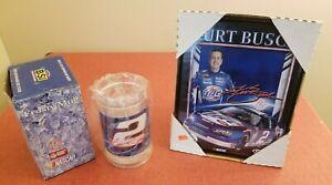 Kurt Busch NASCAR Vintage Kurt Busch Picture & Mug Fan Gift Package