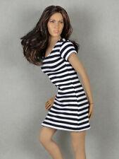 1/6 Phicen, Hot Toys, Kumik, Cy, NT - Female Black & White Stripes Mini Dress