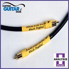Analysis Plus Black Digital Cable, Length 0.5 Meter, RCA-RCA