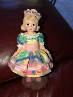 "Madame Alexander Wendy Face ""HAPPY BIRTHDAY"" Resin Figurine Doll Vintage"
