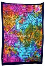 Sun&Moon Tapestry Mandala Indian Wall Hanging Hippie Poster Decor Beach Throw