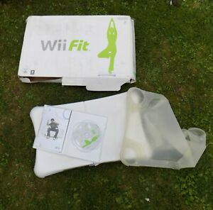 Nintendo Wii Fit Board With Cover, Game and Box