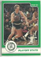 LARRY BIRD 1984 STAR COMPANY Boston Celtics BASKETBALL CARD #5