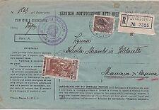 ITALIA 1954 100L LAVORO SU ATTI GIUDIZIARI RACCOMANDATI DA PIOMBINO PER CASCINA