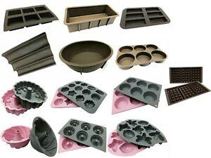 Backform Brotbackform Kastenform Kuchenbackform Gugelhupf Donut Muffin Silikon