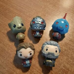 Funko - Mini - Pint Size - Disney - Marvel Guardians of the Galaxy   x 5 figures