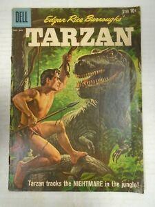 Dell TARZAN #121 (1960) Nightmare in the jungle, Morris Gollub