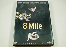 8 Mile DVD Uncensored Bonus Materials Eminem, Kim Basinger, Brittany Murphy