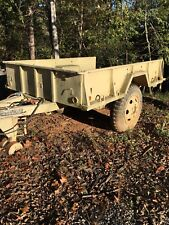 FINAL PRICE DROP!!! Duece And A Half Trailer, military trailer
