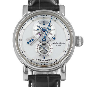 Chronoswiss Flying Regulator CH8753 Silver Dial Box and Papers Automatic Watch