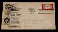 Vintage Cover, UNITED STATES, 1963, EDENTON, NC,Carolina Charter Land Grant 1663