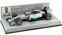 F1 1/43 MERCEDES GP W05 HAMILTON WINNER BAHRAIN GP CHAMPION 2014 MINICHAMPS
