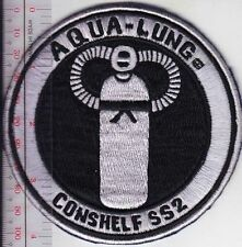 SCUBA Diving USA US Divers Conshelf SS2 Aqua-Lung Regulator Los Angeles CA Patch