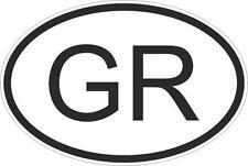 Adesivo adesivi sticker codice auto moto ritagliato nazioni ovale GRECIA
