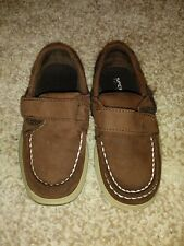 Sperry top-sider cutter II Boys brown shoes 9M