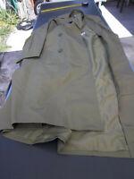 manteau imperméable de 1984 taille 96 M Taille française 48-en trés bon état