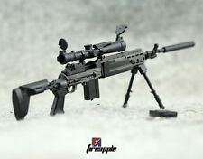 "1:6 1/6 Scale MK14 MOD0 Sniper Rifle Weapon Gun For12"" Action Figure Model Toy"