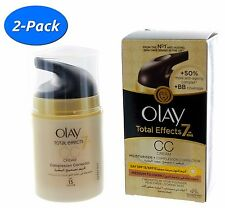 2 Pack: Olay Total Effects 7-In-1 Anti-Aging Moisturizer CC Cream - Day SPF 15