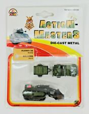 Vintage Zylmex Action-Masters Platoon Car & Bulldozer Die Cast Vehicles - New!