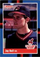 1988 Jay Bell Donruss Baseball Card #637
