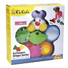 K's Kids Inchworm Shape Sorter activity toy, NEW!