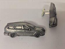 Saab 93 Estate 1995 3D cufflinks classic car pewter effect cufflinks ref237